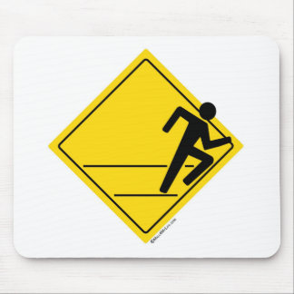 Runner Crossing Mouse Pad