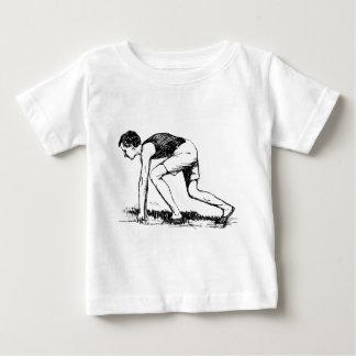 Runner Illustration Baby T-Shirt