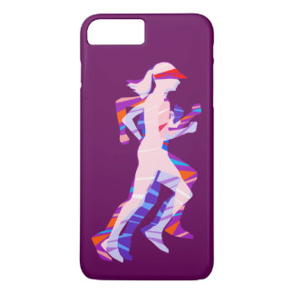 Runner in Motion Art iPhone 8 Plus/7 Plus Case