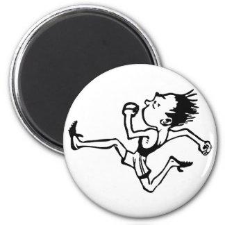 runner more runner 2 inch round magnet