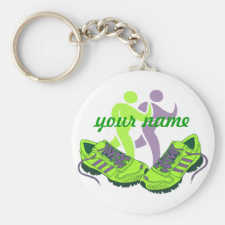 Runner Personalized Key Chain