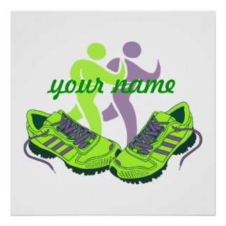 Runner Personalized Poster