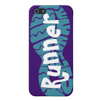 Runner shoe print iPhone 5/5S covers