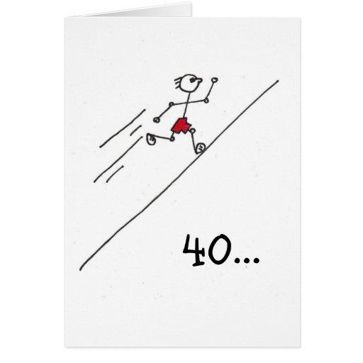 runnerman greeting cards
