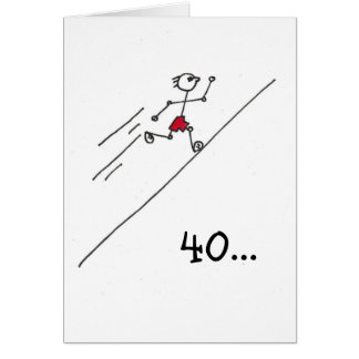 runnerman greeting card