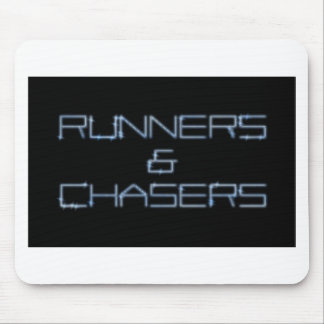 Runners and chasers PNG Mouse Pad