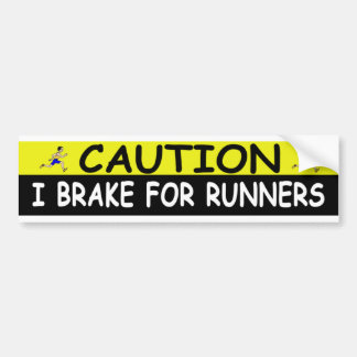 RUNNERS BUMPER STICKER