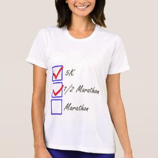 Runner's checklist design T-Shirt