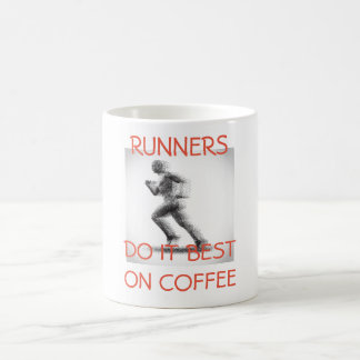 RUNNERS DO IT BEST ON COFFEE - MUG