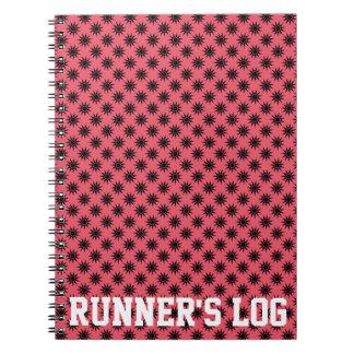 Runner's Log Activity Note Books