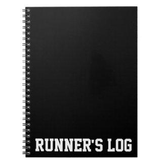 Runner's Log Running Notebook Spiral Journal