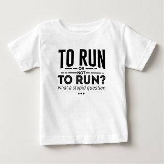 Runners Run Running Is Life Design Baby T-Shirt
