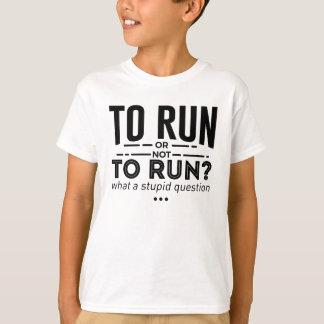 Runners Run Running Is Life Design T-Shirt