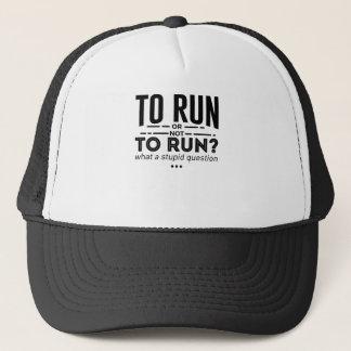 Runners Run Running Is Life Design Trucker Hat