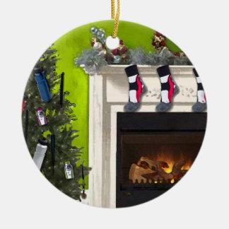 Runner's Tree Ceramic Ornament