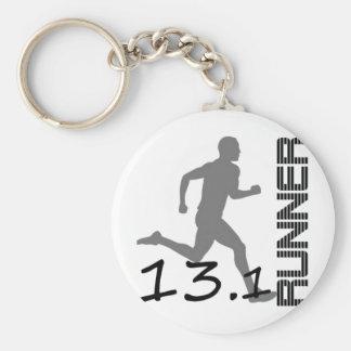 Runners Zone Half Marathon gifts and apparel Keychain