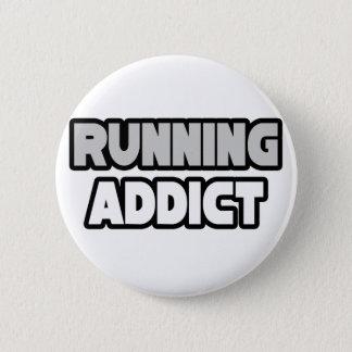 Running Addict 2 Inch Round Button