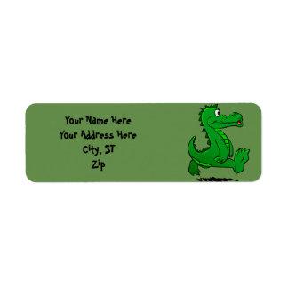 Running alligator
