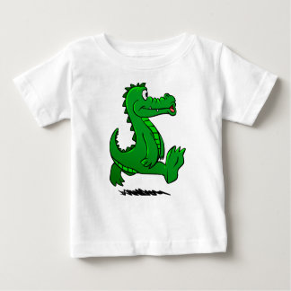 Running alligator baby T-Shirt