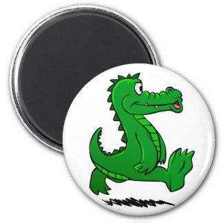 Running alligator magnet