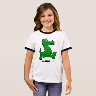 Running alligator ringer T-Shirt
