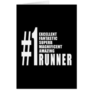 Running and Runners : Number One Runner Card