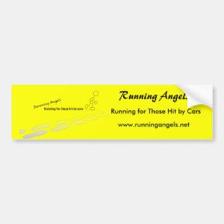 Running Angels Bumper Sticker