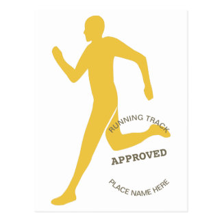 Running Approved Postcard