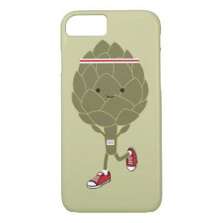 Running Artichoke iPhone 7 Case