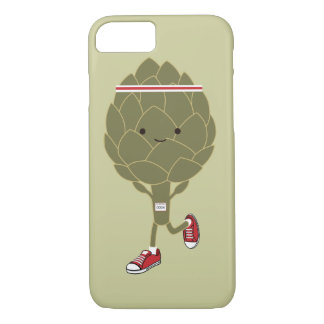 Running Artichoke iPhone 8/7 Case