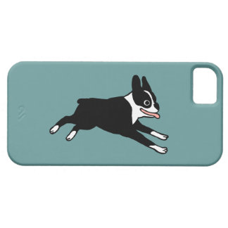 Running Boston Terrier - Customizable Color iPhone 5 Covers
