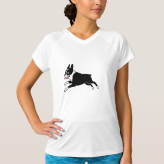 Running Boston Terrier T-Shirt