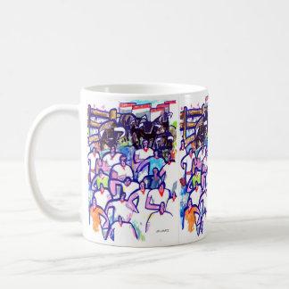 Running bulls 1 coffee mug