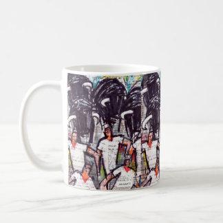 Running bulls 2 coffee mug