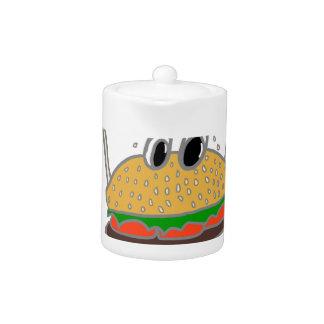 running burger
