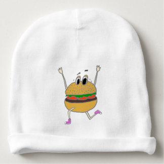 running burger baby beanie