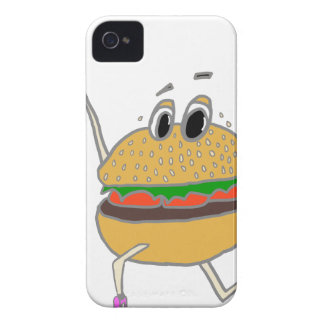 running burger Case-Mate iPhone 4 case