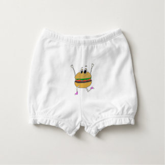 running burger diaper cover