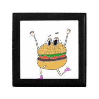 running burger gift box