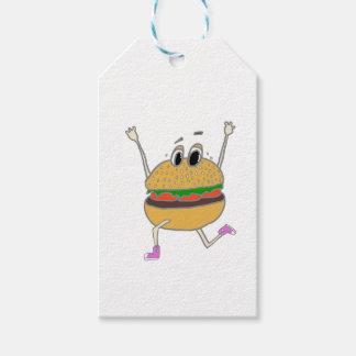 running burger gift tags