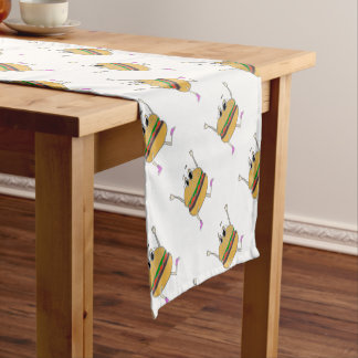 running burger short table runner