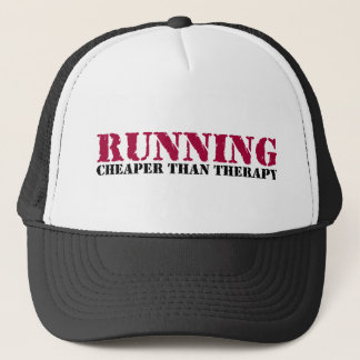 Running - Cheaper than therapy Trucker Hat