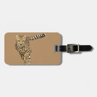 Running Cheetah Luggage Tag