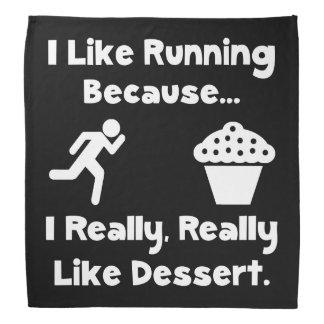 Running Dessert Bandana