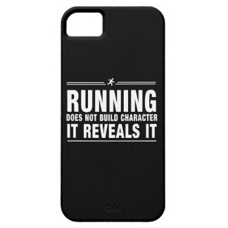 Running Doesnt Build Character iPhone 5 Covers