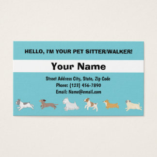 Running Dogs Business Card