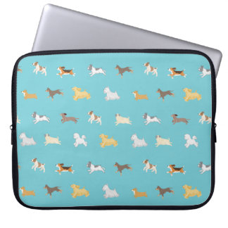Running Dogs Laptop Sleeve