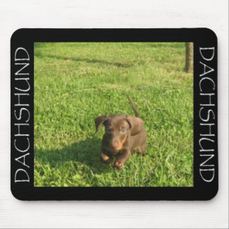 Running Doxie Mouse Pad