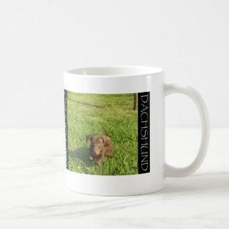 Running Doxie Pup Coffee Mug