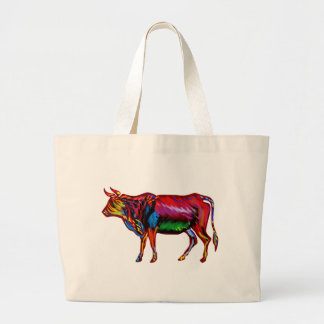 Running Fiesta Large Tote Bag